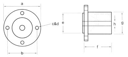 Solid Half Coupling Dimensions Diagram